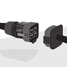 SunPower Helix Cables With No Hand Wiring Compared to Industry Standard