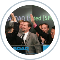 SunPower publicly listed on the NASDAQ