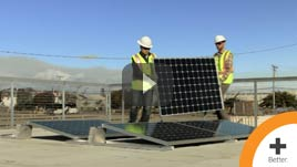 SunPower® Helix™ Panel Installation