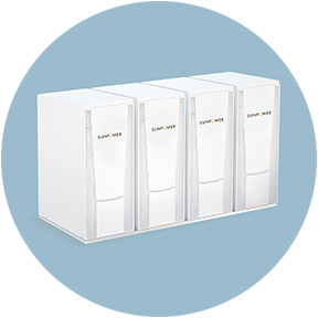 SunPower Solar Energy Storage white