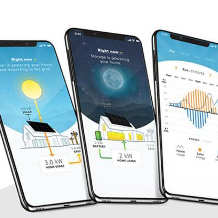 mySunPower solar monitoring mobile app