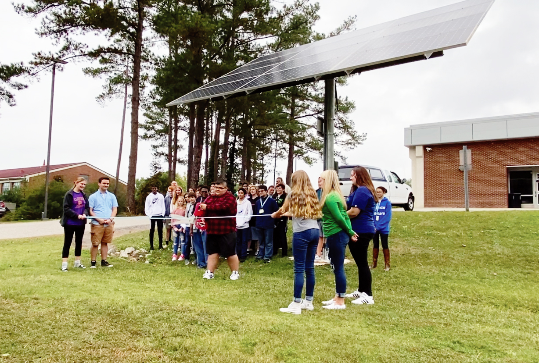 NC GreenPower SunPower Solar Installation