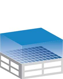 rooftop solar illustration