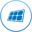 Superior Technology - solar panel icon