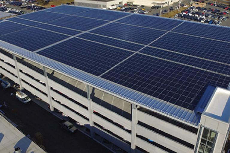 Fitzgerald Auto Mall Drives Savings and Sustainability with Solar Canopy