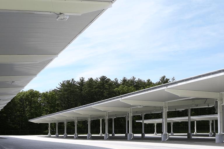 Stonehill College Solar Carport