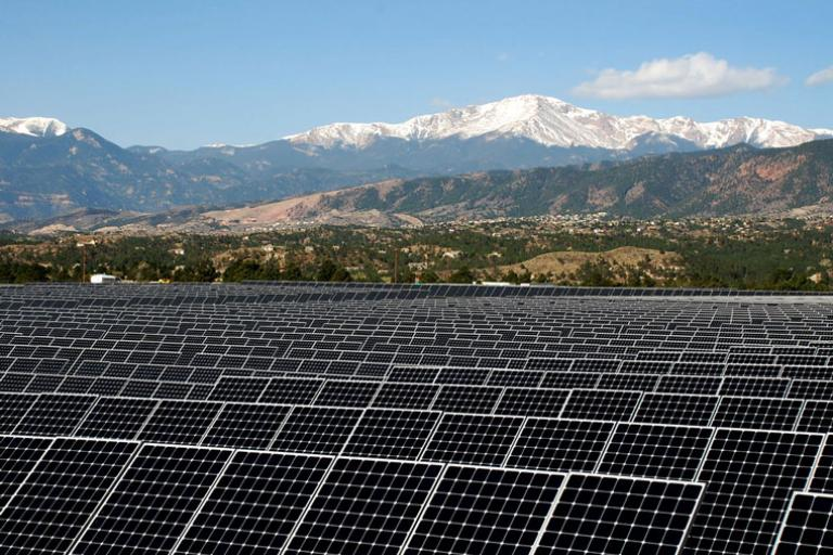 U.S. Air Force Academy solar school net zero energy benefits