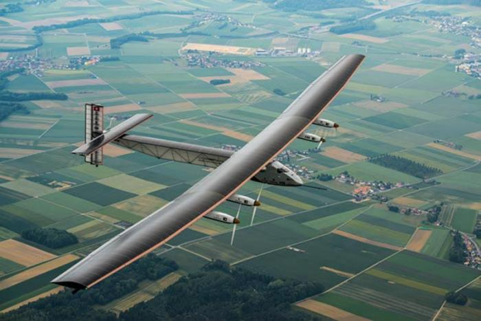 Solar Impulse 2 plane flies around the world