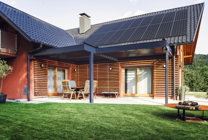 SunPower's new A-Series home solar panels.