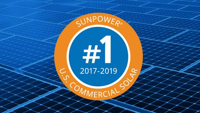 SunPower #1 in Commercial Solar Solutions