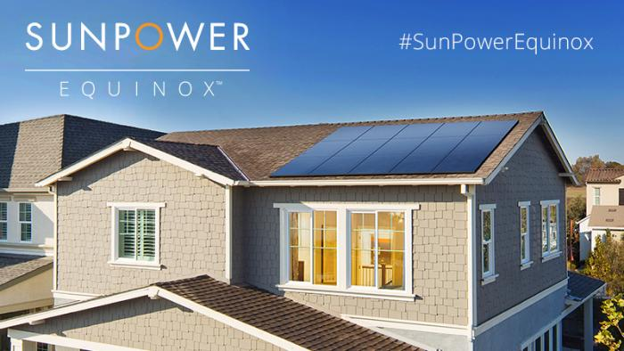 SunPower Equinox™ is our newest home solar energy system.