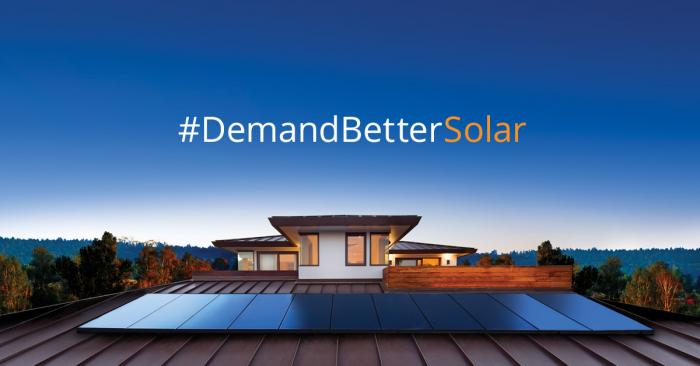 SunPower is encouraging consumers to ask for the most durable, efficient and reliable solar panels commercially available today.