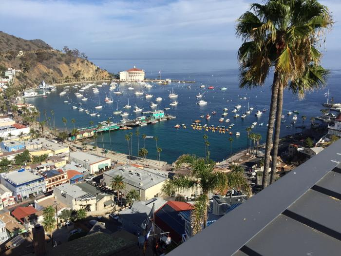 One reason this homeowner chose SunPower solar was for its marine friendly warranty, key in the Catalina Island climate.