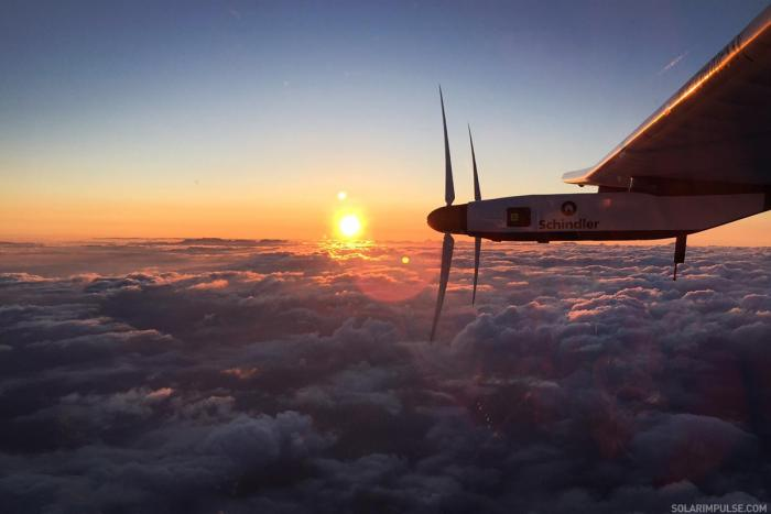 Solar Impulse Solar Airplane