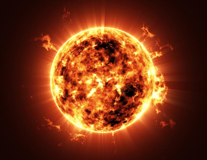 The sun is a naturally occurring nuclear reaction.