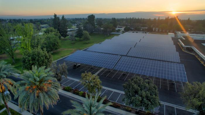 The Kern High School District in California uses SunPower Helix solar systems to generate clean power and save money.