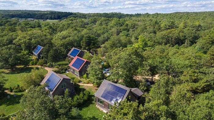 Solar helps residents of this affordable housing community on Martha's Vineyard save money with clean energy.