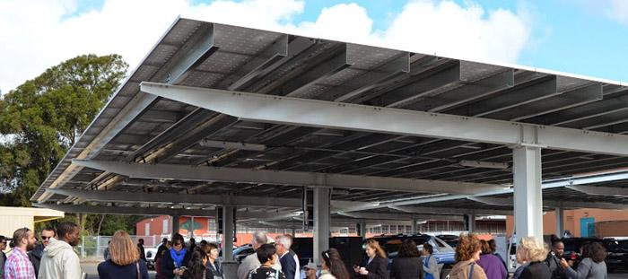 Oakland Unified School District Solar Dedication
