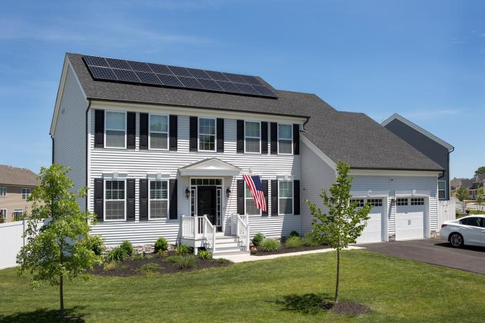 Solar homeowner Andrew Dobish of Goshen, New York