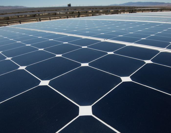 The 250MW California Valley Solar Ranch is one of the world's largest.
