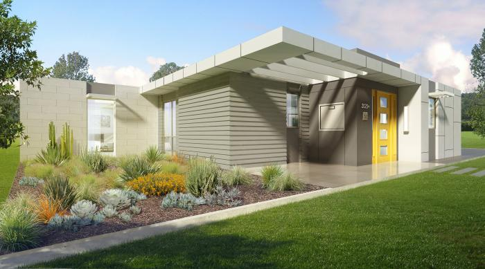 "This model green home called ""ProjeKt,"" on display at the Greenbuild Expo in Los Angeles this week, aims to showcase energy efficient building practices of the future."