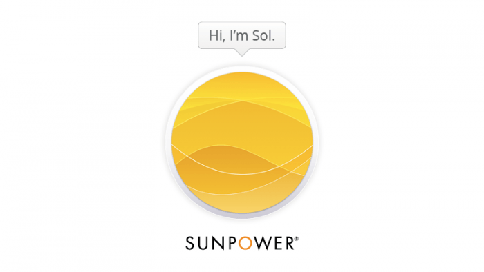 Sol is SunPower's new chatbot.