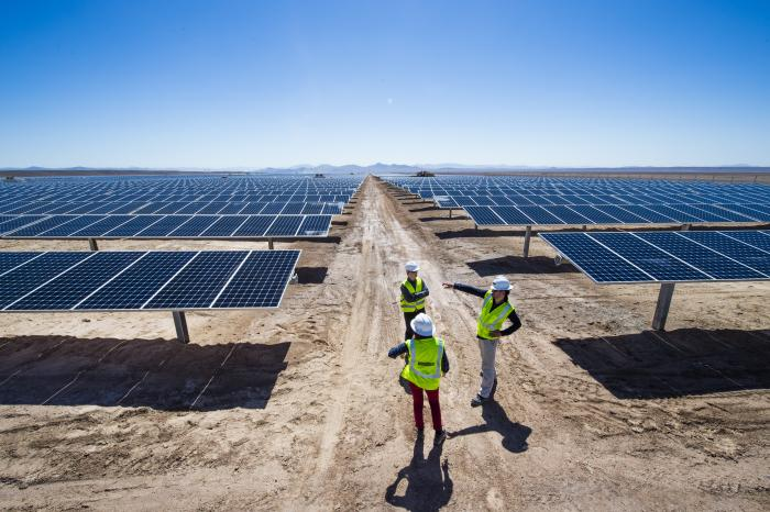 SunPower and Total developed a 70-megawatt power plant in El Salvador in Chile's Atacama Desert.