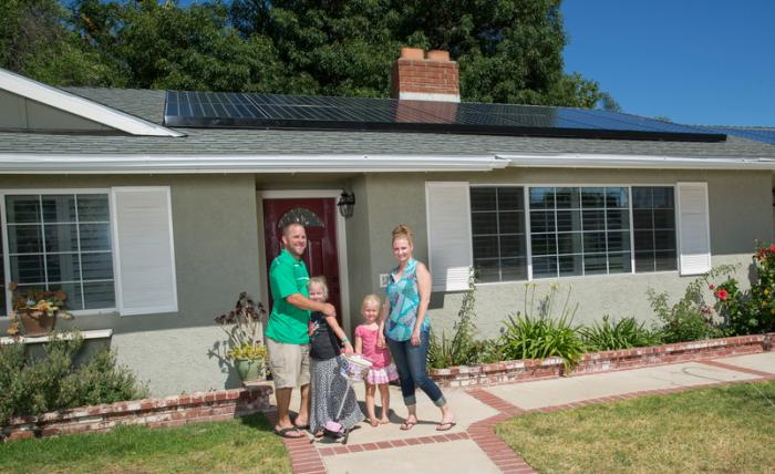 This Simi Valley, Ca., family went solar with SunPower to save money and help the environment.