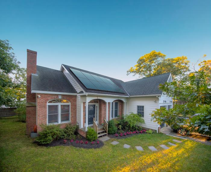 When you're shopping for home solar panels, you're really choosing a solar installer you can trust to custom design the best solar system for your home.