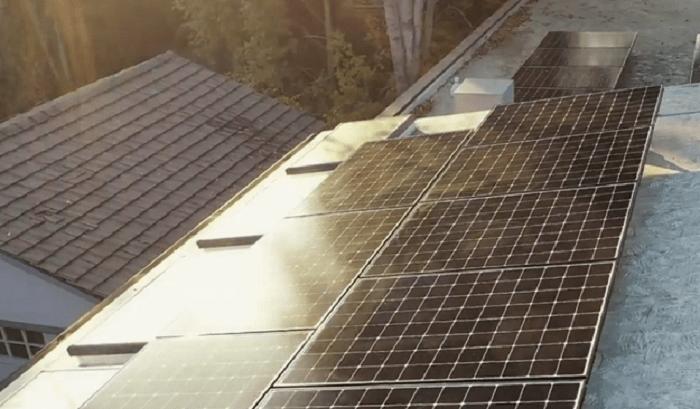 Equinox Solar System on Bridge House Roof