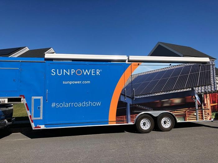 SunPower Equinox Roadshow truck