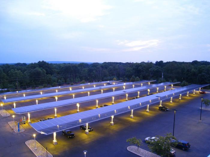 Solar carports are a popular type of commercial solar installation. Learn more in this new video.