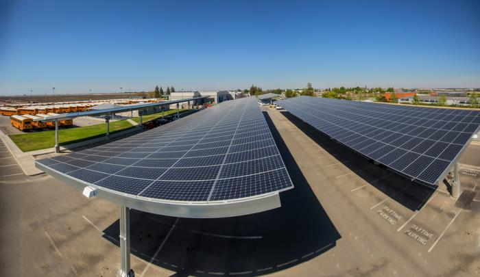 SunPower solar carports were named a Top Green Product of 2018.