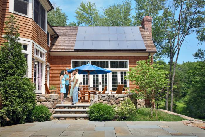 Homeowners enjoy SunPower Solar Panels