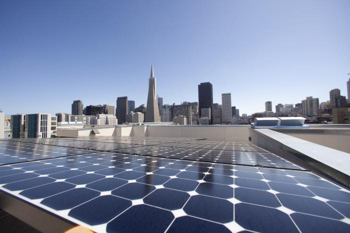 California Commercial SunPower Solar Installation
