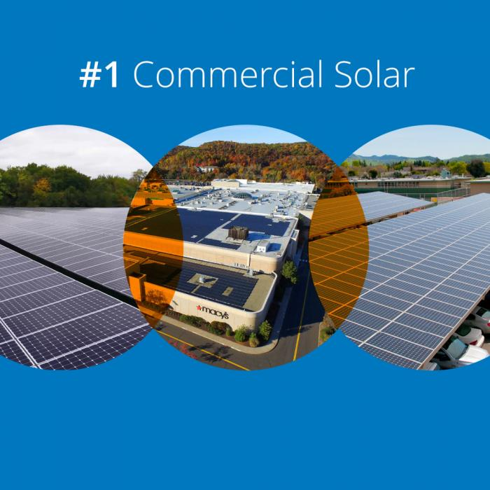 SunPower was ranked the top U.S. commercial solar provider.