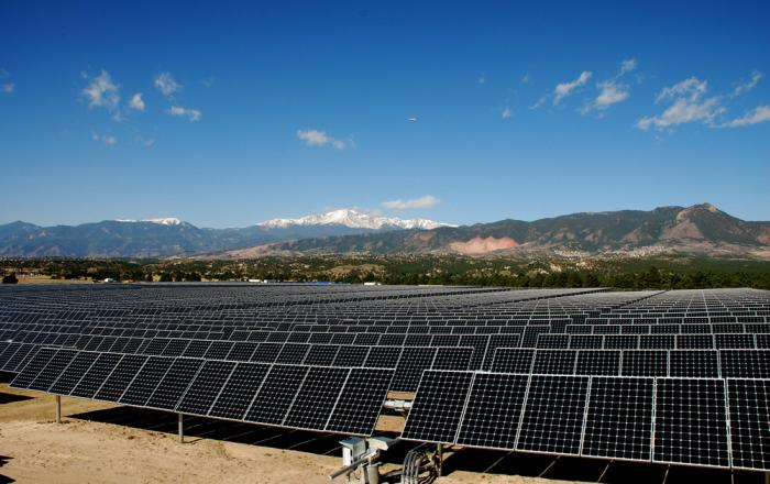 The U.S. Air Force Academy in Colorado uses SunPower solar.