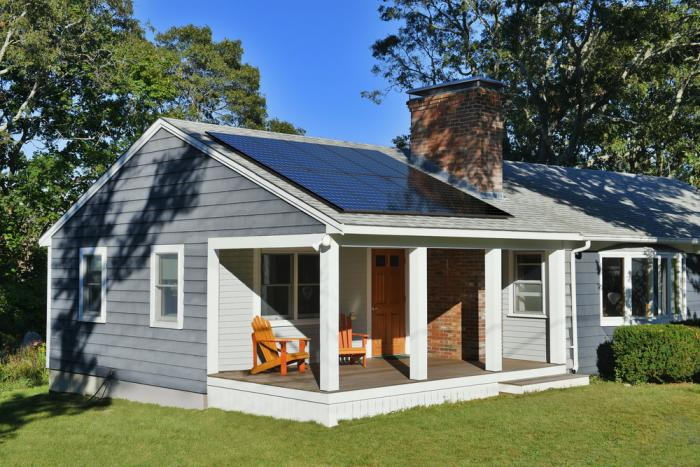 If you're house is small, you'll need a highly efficient solar panel to meet your energy needs.