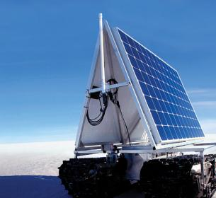 SunPower solar panels were used by NASA on an unmanned vehicle used for icecap research in Greenland.