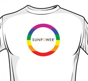 SunPower's San Francisco Pride Parade Logo