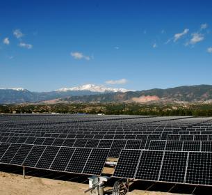 The U.S. Air Force Academy in Colorado uses SunPower solar.