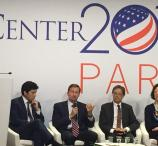 SunPower CEO Tom Werner and California Senate President Pro Tem Tom De León join other climate change leaders in Paris for climate talks in December, 2015