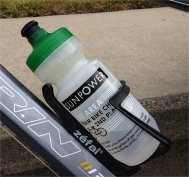 SunPower biking water bottle