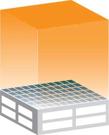 SunPower® rooftop energy illustration