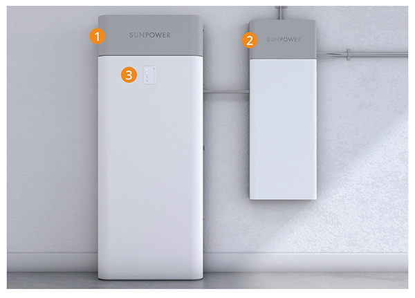 SunVault Storage General System and LED Panel Info