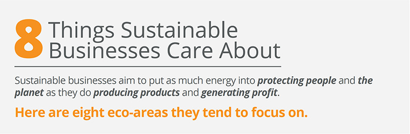 8 things sustainable businesses care about