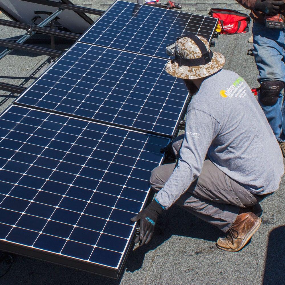 David Small Solar Installation